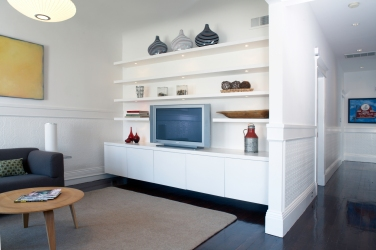 San Francisco TV Room Remodel Architecture
