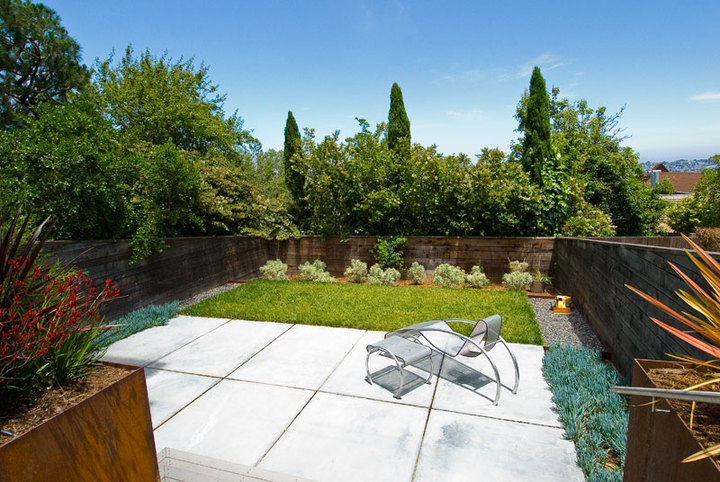 San Francisco Backyard Landscape Architecture