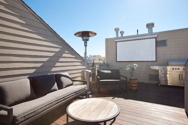 San Francisco Rooftop Deck Remodel Architecture