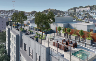 San Francisco Multi-Family Housing Rooftop Design