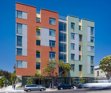 San Francisco Green Housing Architecture