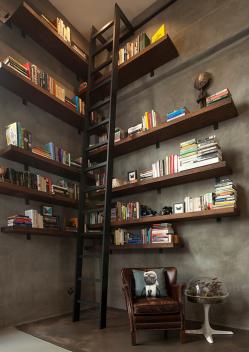 San Francisco Nook Library Design