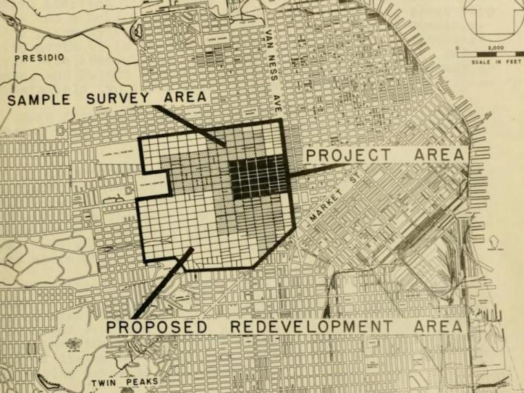 San Francisco Urban Renewal Plans